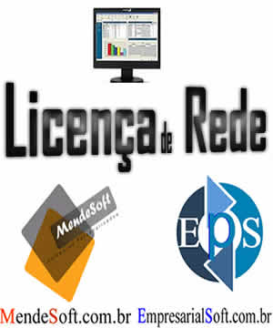 Licença para rede de pcs empresarialsoft mendesoft onemaker