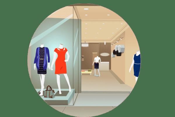 programa loja roupas